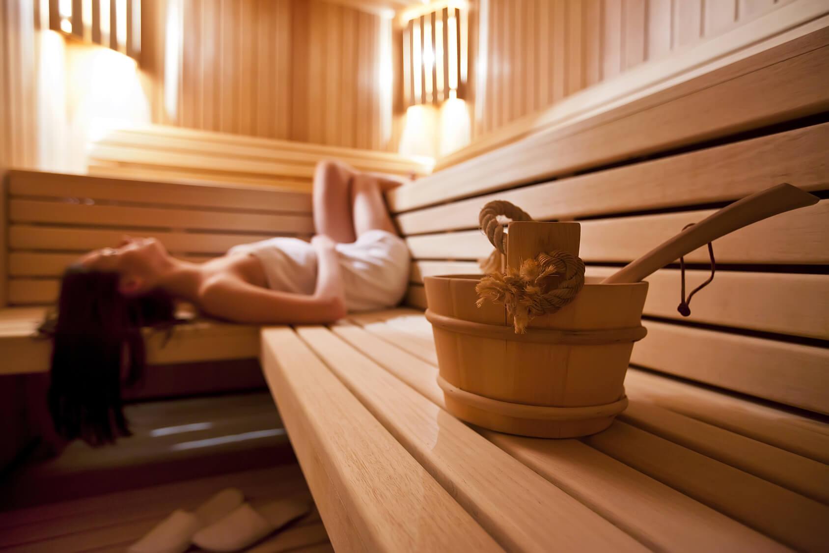 Sauna nackt sex in der Kostenloses sauna